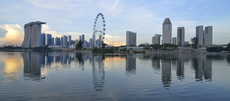 Singapore Skyline 2 – shutterstock_88503022